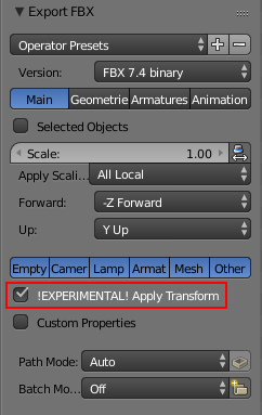 Blender to Unity Workflow